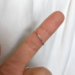 Jewelry - Taste the Rainbow Ring - Rose Gold